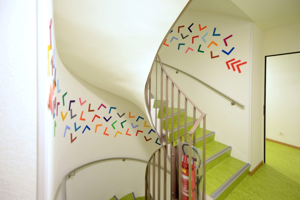 Aufgang Treppe