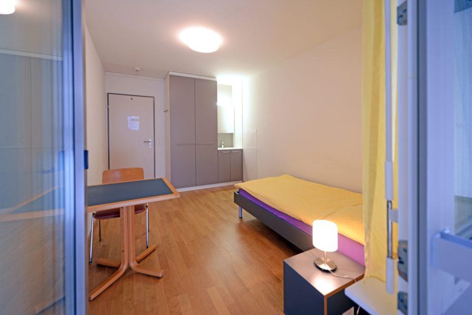 Zimmer des Heilsarmee Frauenwohnhauses